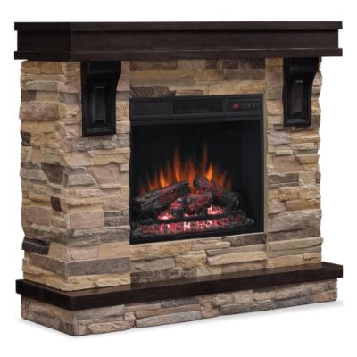 Bello Mantle With Log Firebox -  AUS45MTL