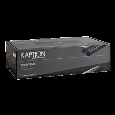 Kaption Audio 4-Channel 400W RMS Ampifier-570-AZR400X4