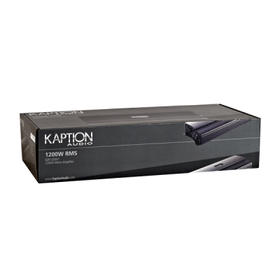 Kaption Audio 1200W RMS Mono Block Amplifier-570-DZR1200X1