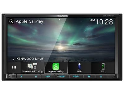"6.95"" Kenwood DVD Receiver with Bluetooth - DDX8706S"