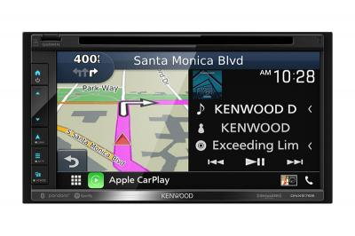 Kenwood Navigation DVD Car Stereo Receiver with Bluetooth - DNX576S