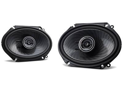 "6x8"" Kenwood Oval Custom Fit 2-way Speakers - KFCC6896PS"