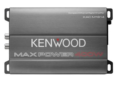 Kenwood Compact 4-Channel Digital Amplifier - KACM1814