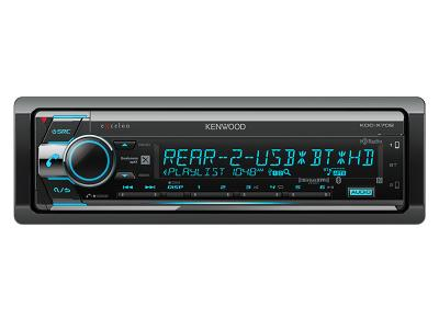 Kenwood CD Receiver with Bluetooth & HD Radio - KDCX702