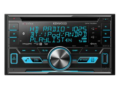 Kenwood 2-DIN CD Receiver with Bluetooth & HD Radio DPX793BH