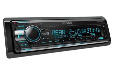 Kenwood CD Receiver with Built-in Bluetooth & HD Radio KDCX701