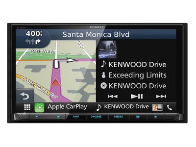 Kenwood eXcelon 7'' WVGA/CAPACITIVE TOUCH/DVD/DUAL USB/BT/ANDROID AUTO/CARPLAY/DASHCAM LINK. DNX994s