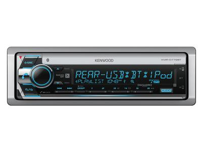 Kenwood Marine CD Receiver with Bluetooth KMRD772BT