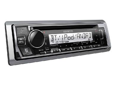 Kenwood Marine/Motorsports CD Receiver with Bluetooth - KMRD375BT