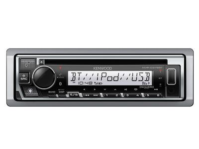 Kenwood Marine/Motorsports CD Receiver with Bluetooth - KMRD378BT