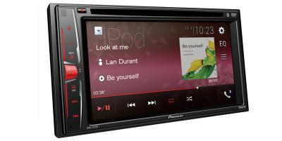 Pioneer Multimedia DVD Receiver With WVGA Clear Resistive Display - AVH-221EX