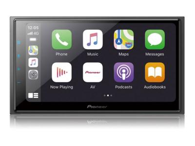 Pioneer In-Dash Multimedia Receiver With WVGA Capacitive Touchscreen Display - DMH-W4600NEX
