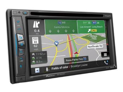 "Pioneer In-Dash Navigation AV Receiver With 6.2"" WVGA Clear Resistive Touchscreen Display - AVIC-W6600NEX"