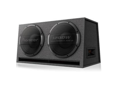 Pioneer Dual Ported Enclosure Active Subwoofer with Built-in Amplifier - TS-WX1220AH