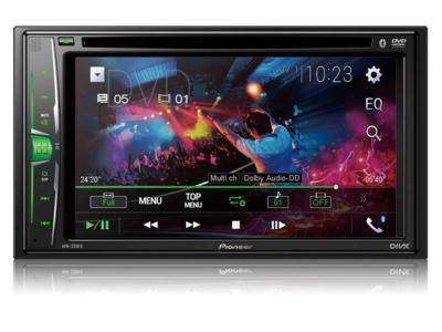 Pioneer Multimedia DVD Receiver With WVGA Clear Resistive Display - AVH-220EX