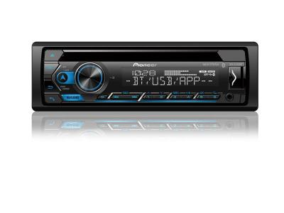 Pioneer CD Receiver with Improved Smart Sync App Compatibility And Built-in Bluetooth - DEH-S4200BT