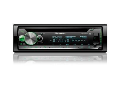Pioneer CD Receiver with Smart Sync App Compatibility and Built-in Bluetooth - DEH-S5200BT