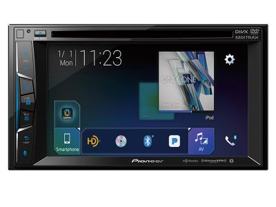 "Pioneer Multimedia DVD Receiver with 6.2"" WVGA Display Built-in Bluetooth-AVH-501EX"
