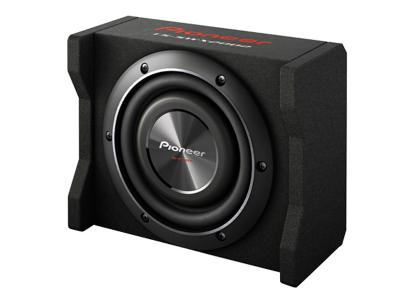 "Pioneer 8"" Shallow-Mount Pre-Loaded Enclosure - TS-SWX2002"