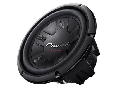 "Pioneer 10"" Champion Series Subwoofer with Dual 4 Ohm Voice Coil TS-W261D4"