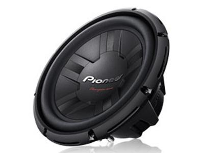 "Pioneer 12"" Champion Series Subwoofer with Dual 4 Ohm Voice Coil TS-W311D4"