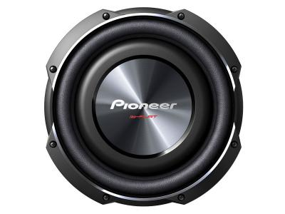 "Pioneer 10"" Shallow-Mount Subwoofer with 1,200 Watts Max. Power TS-SW2502S4"