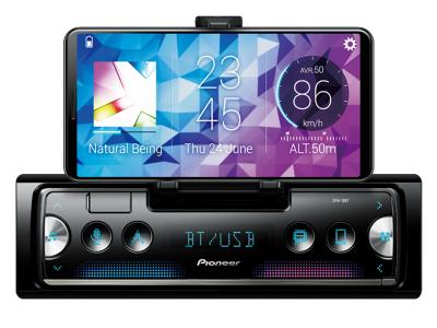 Pioneer Smart Sync with Alexa Receiver Featuring Built-In Cradle - SPH-10BT