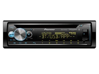 Pioneer CD Receiver with enhanced Audio Functons - DEH-S6120BS