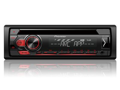 Pioneer CD Receiver with Pioneer ARC App and USB Control - DEH-S1100UB