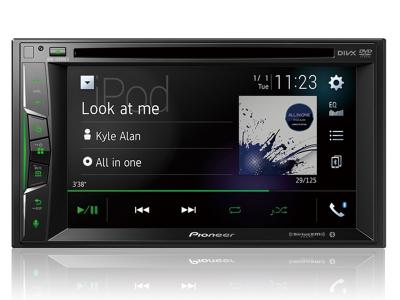 "Pioneer Multimedia DVD Receiver with 6.2"" WVGA Display - AVH-1500NEX"