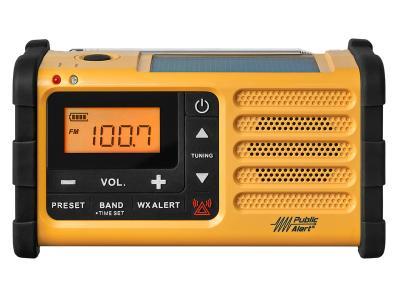 Sangean FM / AM / Weather / Handcrank / Solar / Emergency Alert Radio - MMR-88