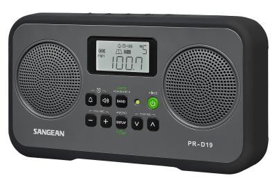 Sangean FM-Stereo / AM Digital Tuning Portable Receiver - PR-D19BK