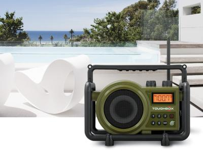Sangean FM AM AUX-In Ultra Rugged Digital Tuning Radio Receiver - TB-100