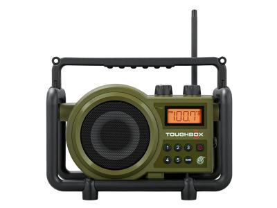 Sangean FM AM AUX-In Ultra Rugged Digital Tuning Radio Receiver - TB-100