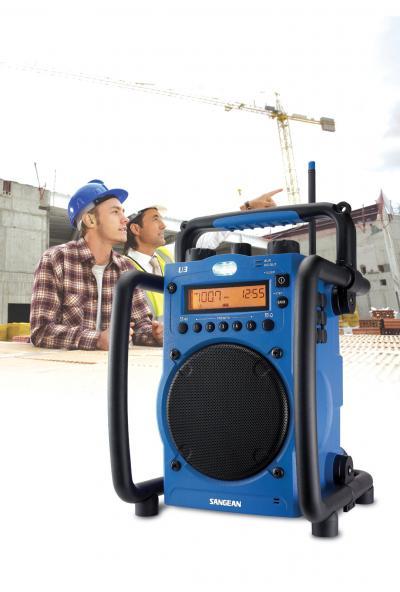 Sangean FM AM Ultra Rugged Digital Tuning Radio Receiver - U3