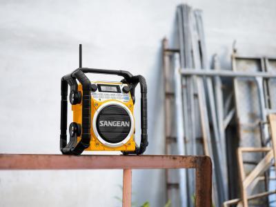 Sangean Ultra Rugged Smart Rechargeable Digital Tuning Radio - U4