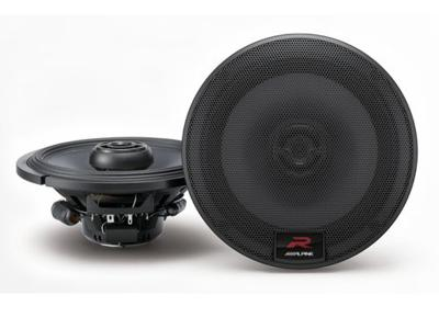 Alpine 6-1/2  Coaxial 2-Way Speakers - R-S65