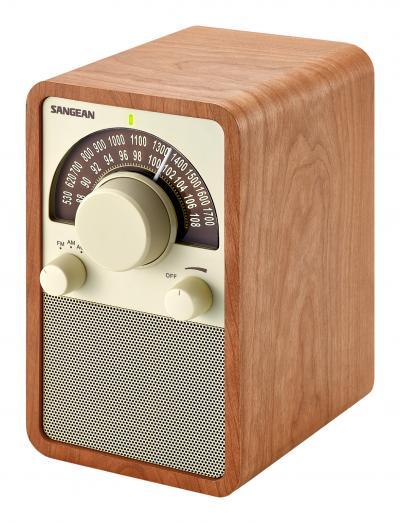 Sangean FM / AM Wooden Cabinet Receiver-WR-15WL