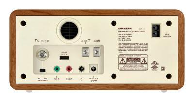 Sangean FM / AM / Aux-in / Bluetooth Wooden Cabinet Receiver - WR-16 (Wnt)