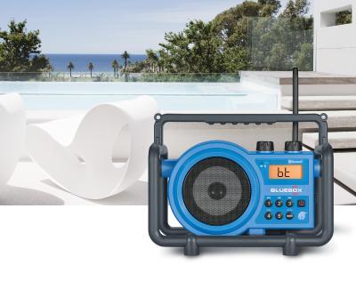 Sangean FM AM Bluetooth Aux-in Ultra Rugged Digital Tuning Receiver - BB-100