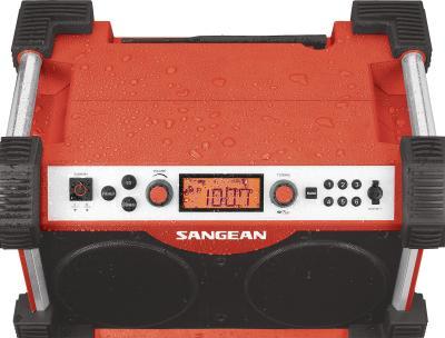 Sangean FM AM Aux-in Ultra Rugged Radio Receiver - FB-100