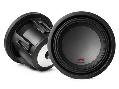 "Alpine R-Series 10"" subwoofer with dual 4-ohm voice coils - R-W10D4"