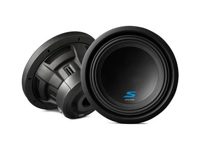 "10"" Alpine Dual Voice Coil (2 Ohm) High Performance Subwoofers - S-W10D2"