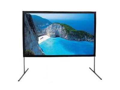 EluneVision 120 Inch 4:3 Fast Fold Front and Rear Projection Screen - EV-FF-120-FR-1.2