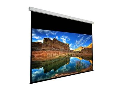 EluneVision 220 Inch 16:9 Rear Projection Large Motorized Tab Tension Screen - EV-LTR-220-1.2