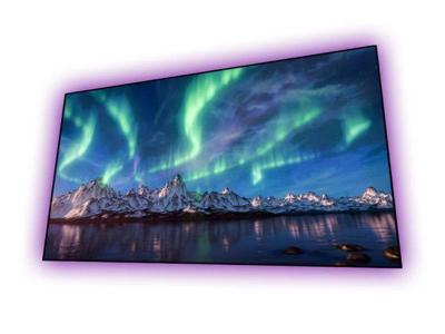 EluneVision 110 Inch 16:9 Aurora 8K Ultra Short Throw Ambient Light Rejection NanoEdge Screen - EV-ZLST-110-0.7