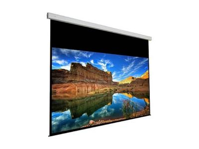 EluneVision 144*144 Large Motorized High Definition Cinema White Screen - EV-LM-144*144-1.2