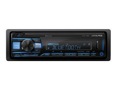 Alpine Advanced Bluetooth® Mech-less Digital Receiver - UTE-73BT