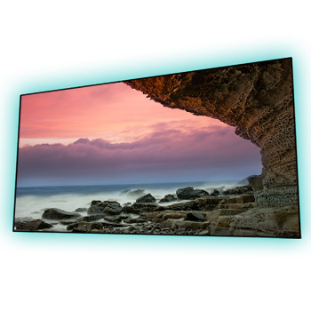 EluneVision 120'' 2.35:1 Aurora NanoEdge ALR Perforated Grey Screen - EV-ZPL-120-1.25-2.35