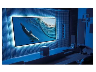 "EluneVision 120"" 16:9 Aurora NanoEdge ALR 4K Fixed-Frame Screen - EV-ZL-120-1.3"